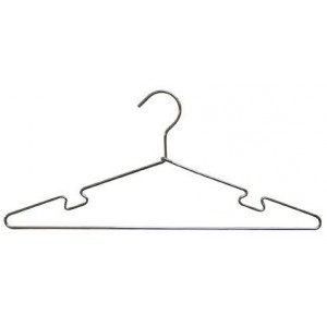 17 Metal Top Hanger W Notches Everything Hangers