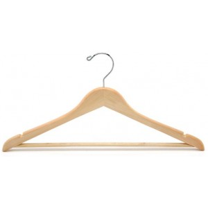 Flat Suit Hanger w/ Bar