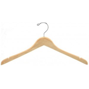 Contoured Coat/Top Hanger