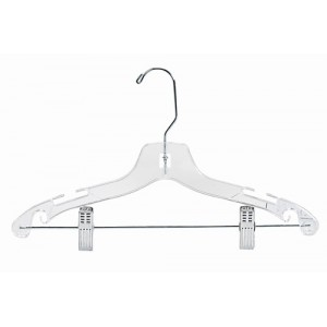 "14"" Childrens & Teens Plastic Suit Hanger"