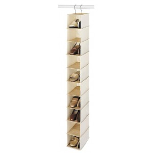 bamboo canvas shoe hanger everything hangers